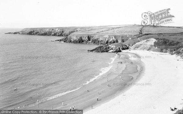 Photo of Aberdaron, Whistling Sands c.1955