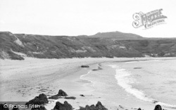Aberdaron, Whistling Sands c.1955