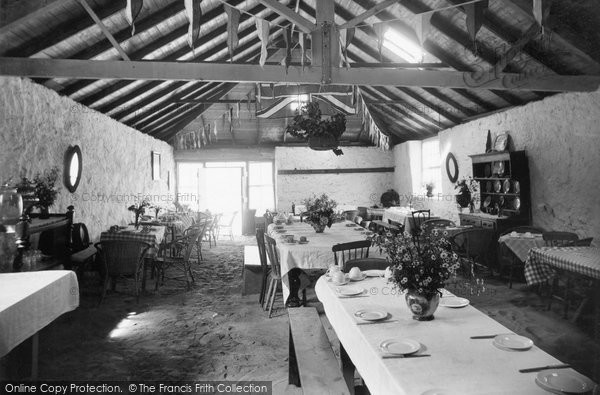 Photo of Aberdaron, Whistling Sands Cafe Interior 1936