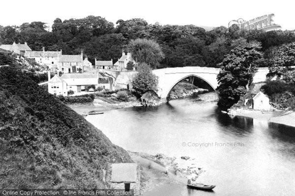 Aberdeen, Brig O'Balgownie c1890