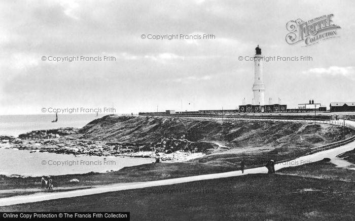 Aberdeen, Girdleness Lighthouse c.1900