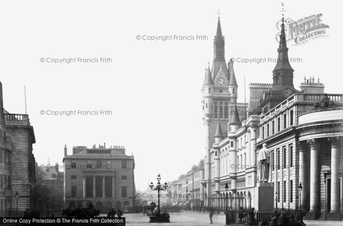 Photo of Aberdeen, Municipal Buildings 1892