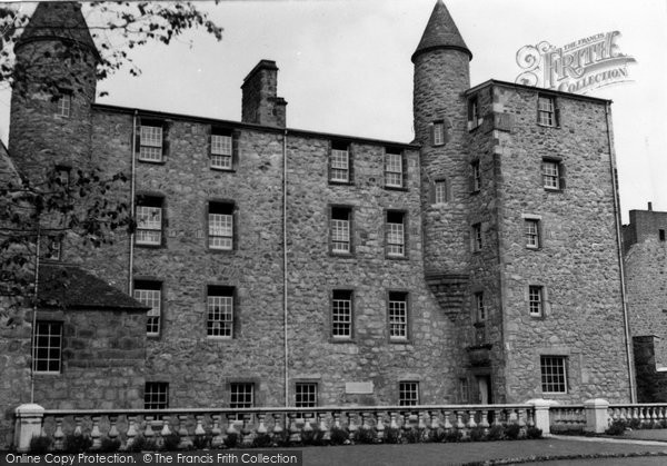 Photo of Aberdeen, Provost Skene's Mansion 1954