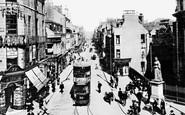 Aberdeen, St Nicholas's Street and Queen's Corner c1910