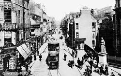 Aberdeen, St Nicholas's Street And Queen's Corner c.1910