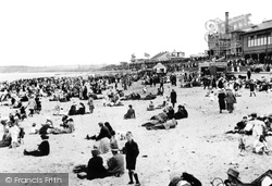 Aberdeen, The Beach And Bathing Station c.1910