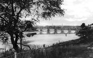 Aberdeen, the Bridge of Dee c1900