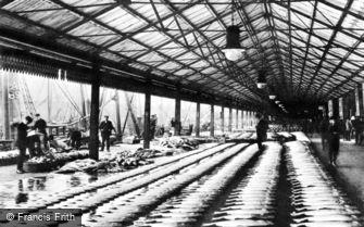 Aberdeen, the Fish Market c1910