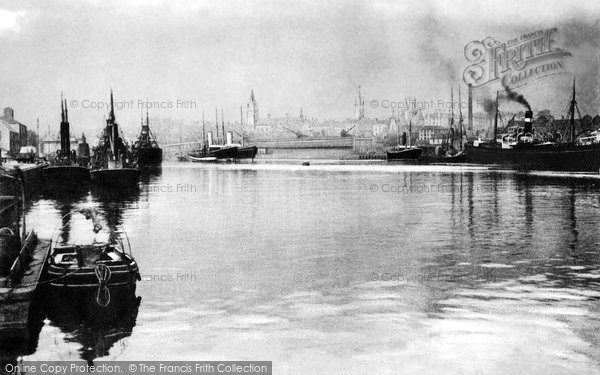 Photo of Aberdeen, The Harbour c.1900