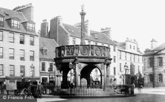 Aberdeen, the Market Cross 1892