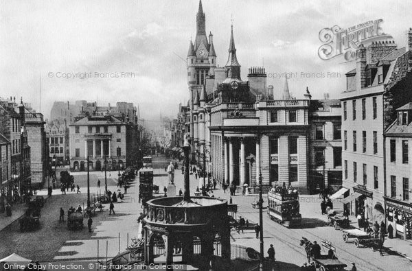 Photo of Aberdeen, The Market Cross c.1905