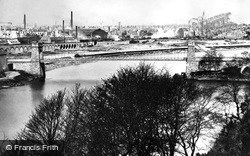 Aberdeen, The Suspension Bridge c.1885