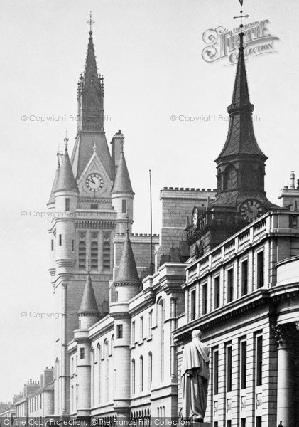 Photo of Aberdeen, Tower Of The New Town House 1892