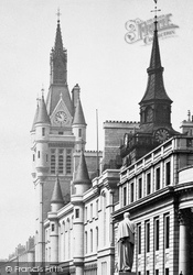 Aberdeen, Tower Of The New Town House 1892