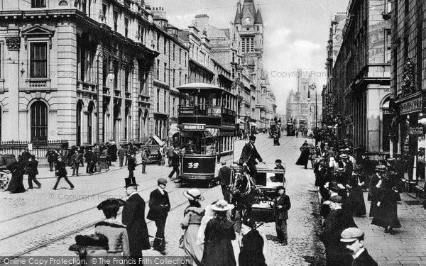 Aberdeen, Union Street c1913