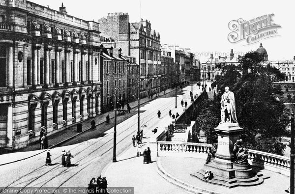 Aberdeen, Union Terrace and Gardens c1915