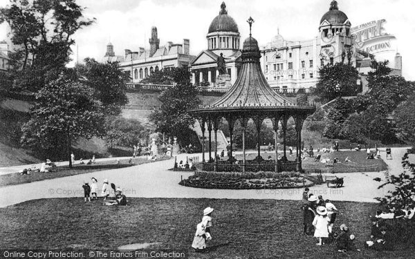 Photo of Aberdeen, Union Terrace Gardens c.1900