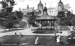 Aberdeen, Union Terrace Gardens c.1900