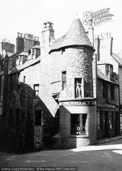 Photo of Aberdeen, Wallace Tower 1949
