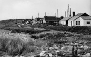 Aberdesach, Buildings By The Shoreline c.1955