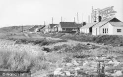 Aberdesach, Buildings By The Shoreline c.1955