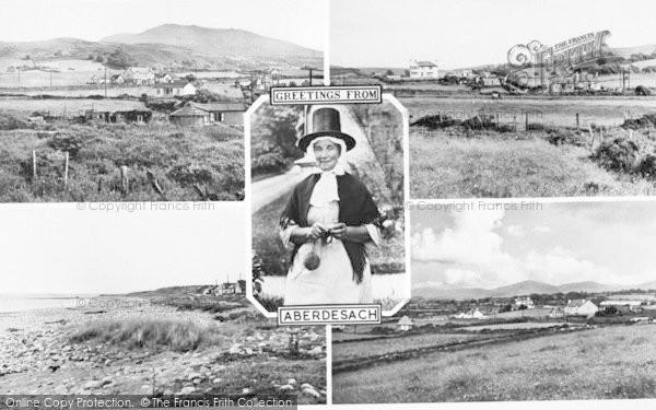 Photo of Aberdesach, Composite c.1955
