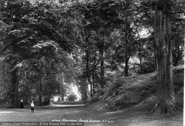 Photo of Aberdour, Beech Avenue 1900