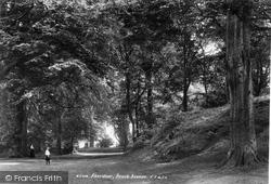 Aberdour, Beech Avenue 1900