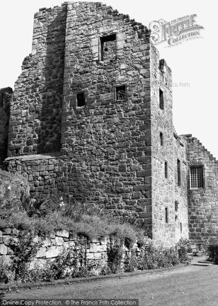 Photo of Aberdour, Castle 1953