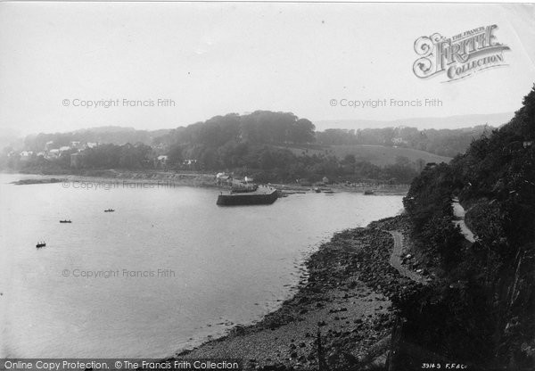 Photo of Aberdour, From Hawk Crag 1897