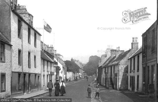 Photo of Aberdour, High Street 1900