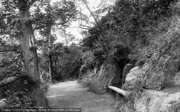 Aberdour, Pathway On Cliff 1900