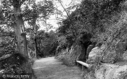 Aberdour, Pathway On Cliff 1900