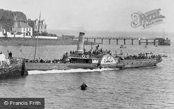 Steamer At The Pier 1897, Aberdour