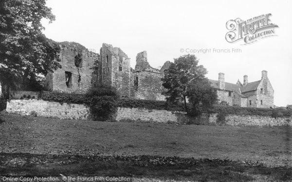 Photo of Aberdour, The Castle 1897
