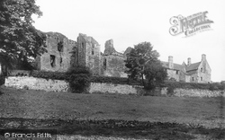 Aberdour, The Castle 1897