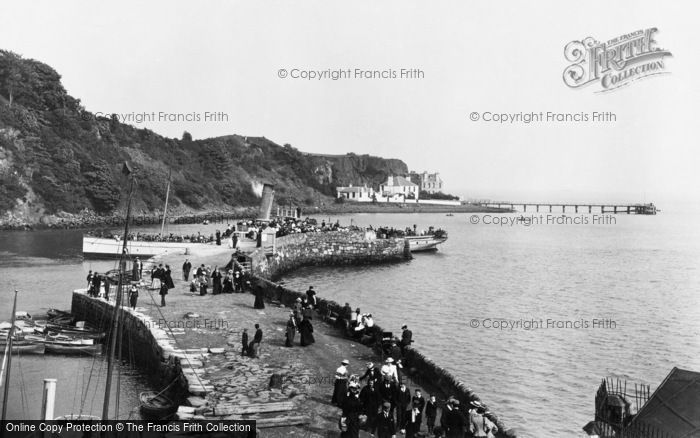 Photo of Aberdour, The Stone Pier 1900