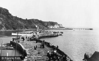 Aberdour, the Stone Pier 1900