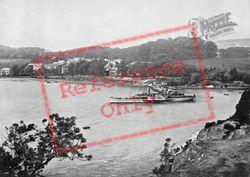 The 'tantallon Castle' Leaving The Pier c.1895, Aberdour