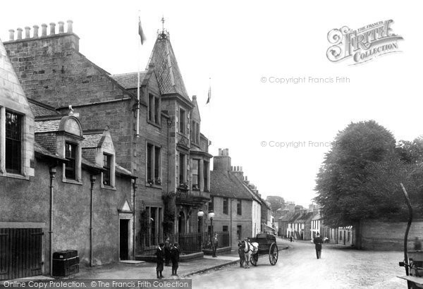 Photo of Aberdour, The Woodside Hotel 1900