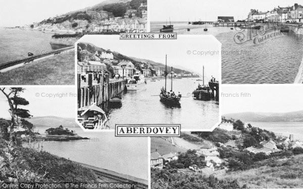 Photo of Aberdovey, Composite c.1955