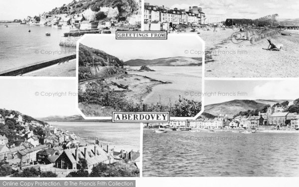 Photo of Aberdovey, Composite c.1960