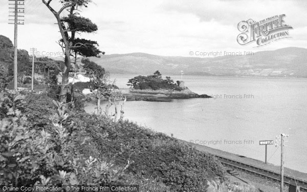 Photo of Aberdovey, Dovey Estuary From Outward Bound Sea School c.1955
