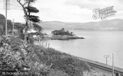 Aberdovey, Dovey Estuary From Outward Bound Sea School c.1955