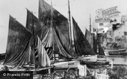 Aberdovey, Fishing Boats c.1910