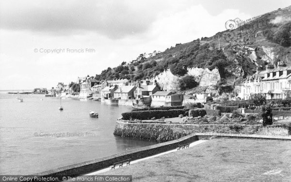 Photo of Aberdovey, From Penhelig c.1960