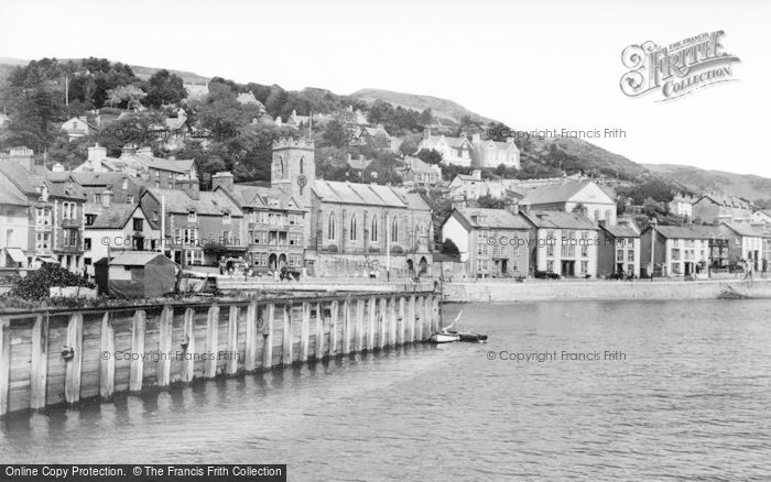 Photo of Aberdovey, From The Harbour c.1939