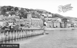 Aberdovey, From The Harbour c.1939