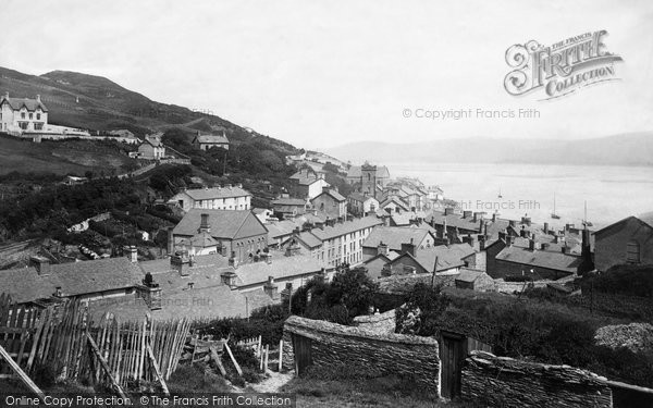 Aberdovey, From The Hills 1892