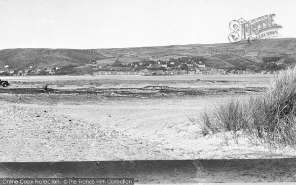 Photo of Aberdovey, From The Sand Dunes c.1955